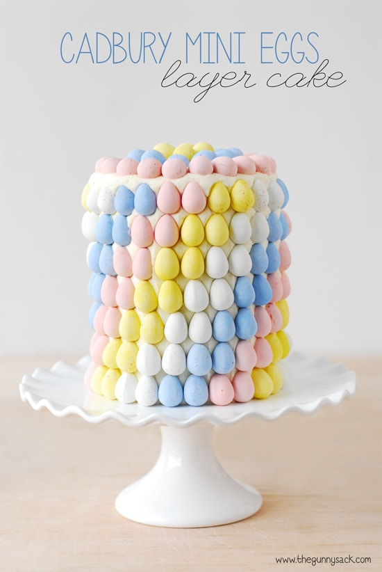 Adorable Spring and Easter Roundup on MyCakeSchool.com! Cuteness from The Gunny Sack.