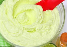 Yum! Tequila Lime Frosting Recipe by MyCakeSchool.com! Perfect for Margarita Cakes and Cupcakes!