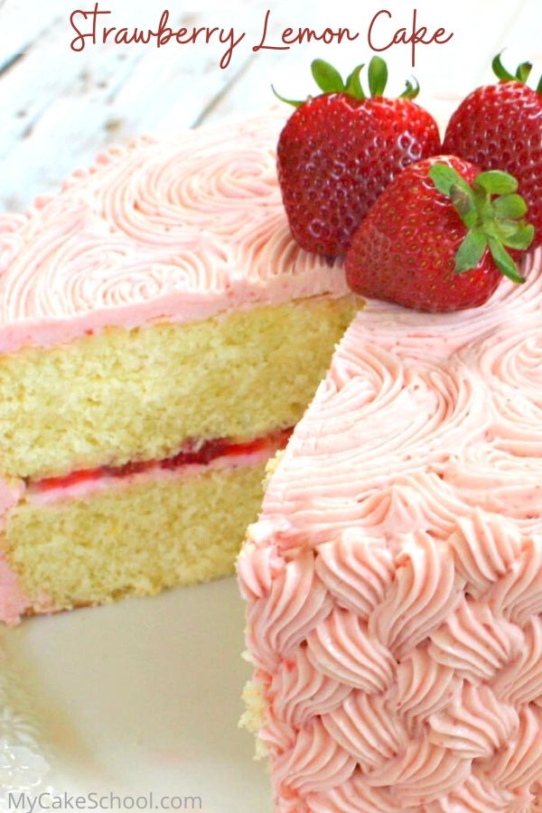 Delicious Strawberry Lemon Cake from Scratch