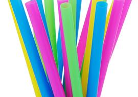 Bubble Tea Straws for Tier Stacking