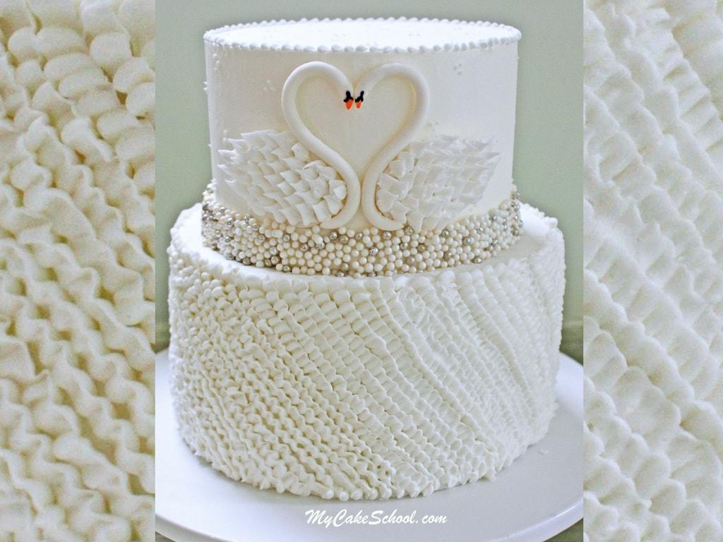 Elegant Swan Cake Cake Video Tutorial My Cake School