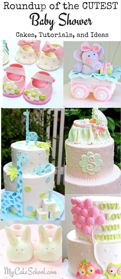 Roundup of the BEST Cake Tutorials, Cake Recipes, and Ideas!