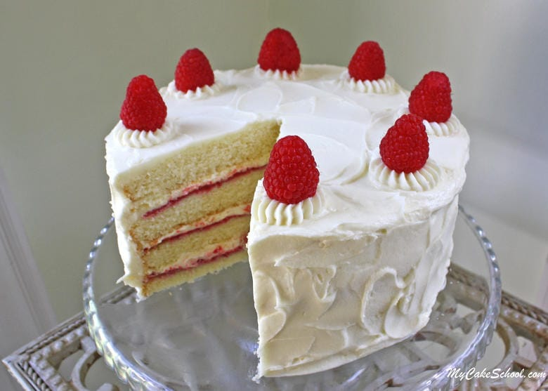best chocolate wedding cake recipe from scratch white chocolate raspberry cake from scratch my cake school 11292