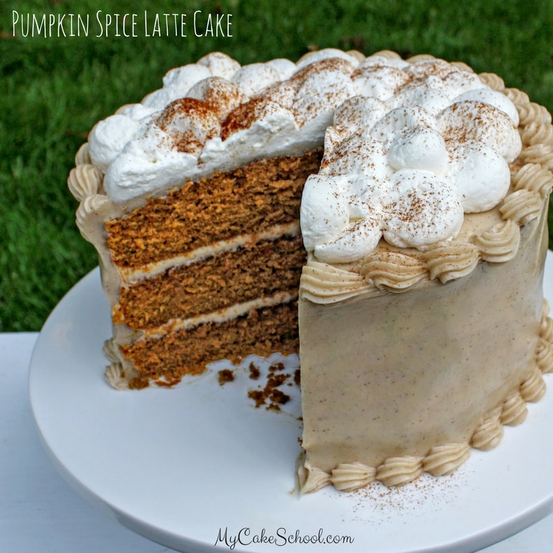 Delicious Pumpkin Spice Latte Cake from Scratch