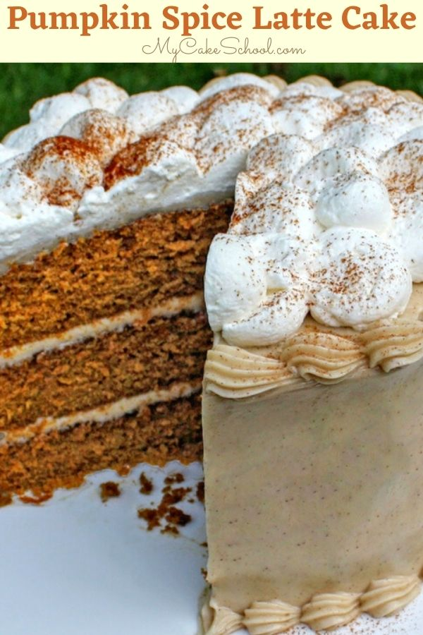 Ultra moist Pumpkin Spice Latte Cake- This recipe is the best!
