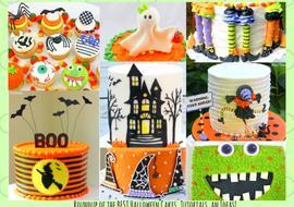 MyCakeSchool.com's Roundup of the BEST Halloween Cake Recipes, Tutorials, and Ideas!
