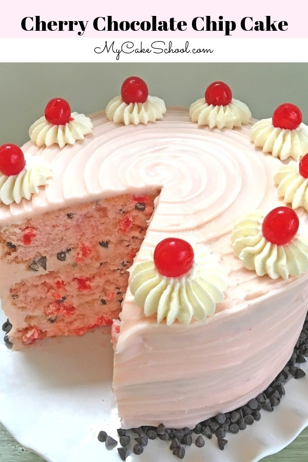 Delicious Cherry Chocolate Chip Layer Cake recipe