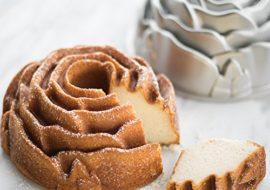 Nordic Ware Rose Bundt Pan (10 cup)- Makes a beautiful cake!