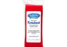 Satin Ice Red Fondant- 4 oz
