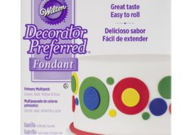 Wilton Fondant- Primary Colors (4.4 oz each)
