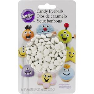 Candy eyeballs are great for making faces on cupcakes and cake pops!
