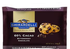 Ghirardelli Chocolate Chips- Bittersweet Chocolate