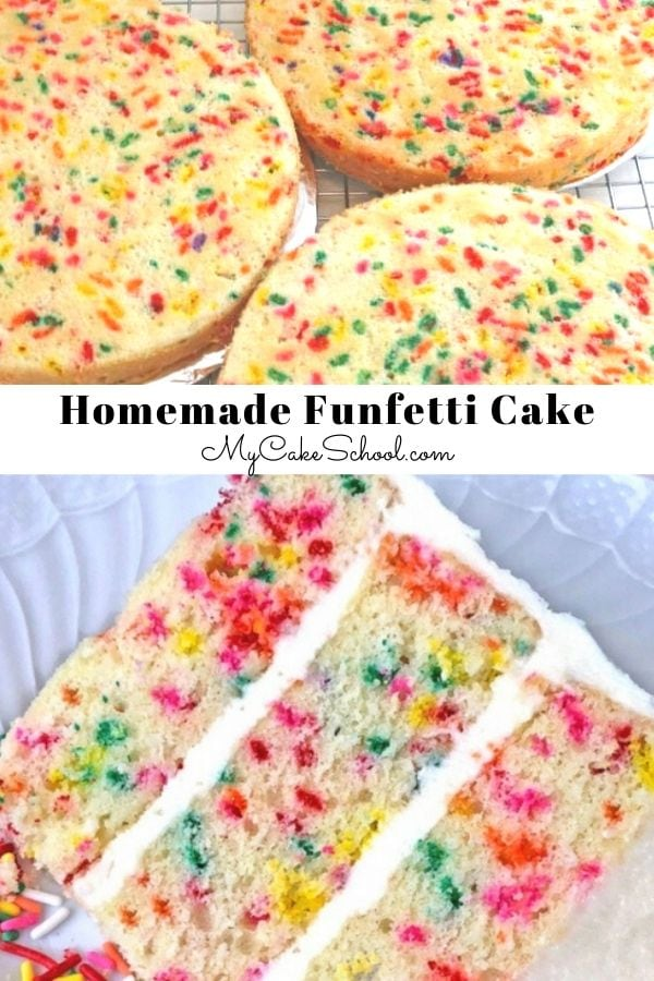 Moist and Delicious Funfetti Cake from Scratch