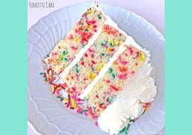 Moist and Delicious Funfetti Cake Recipe by MyCakeSchool.com