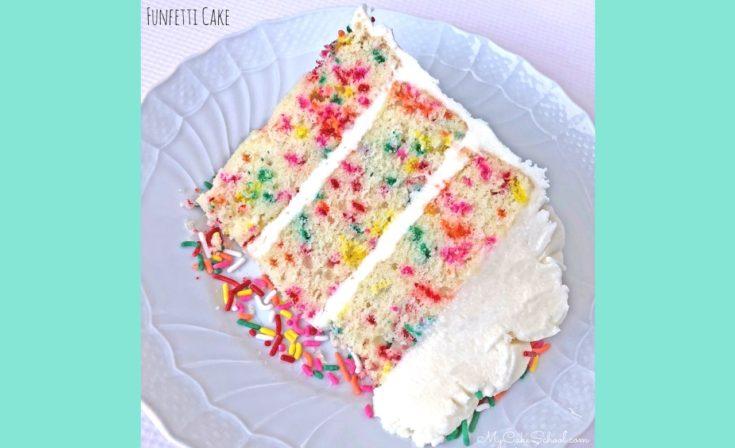 Moist and Delicious Funfetti Cake Recipe by MyCakeSchool.com