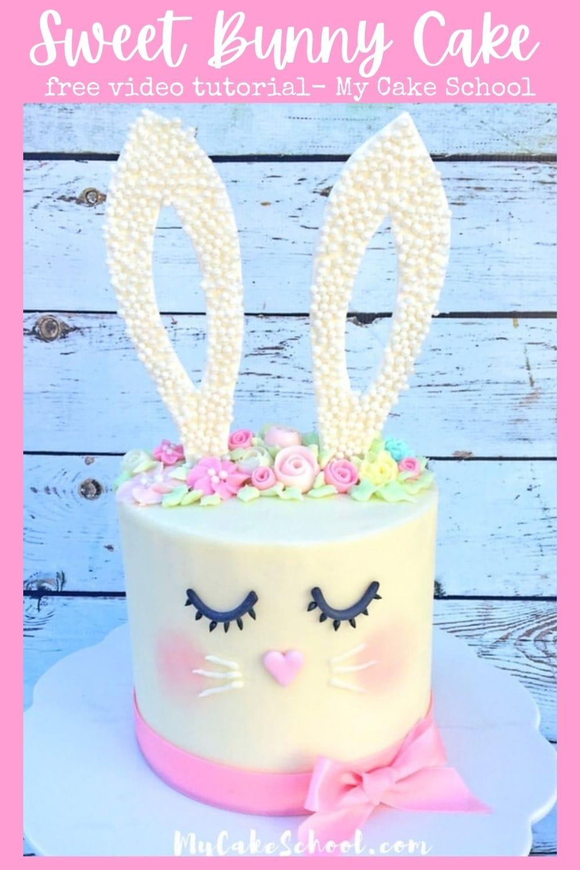 Easy Bunny Cake Tutorial