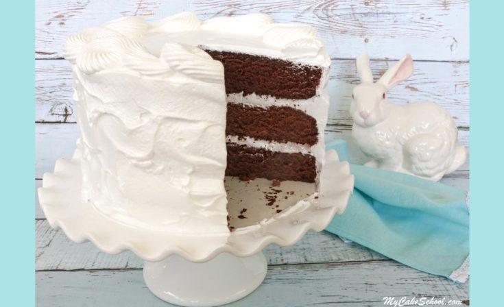 Chocolate Sour Cream Cake- Scratch Recipe