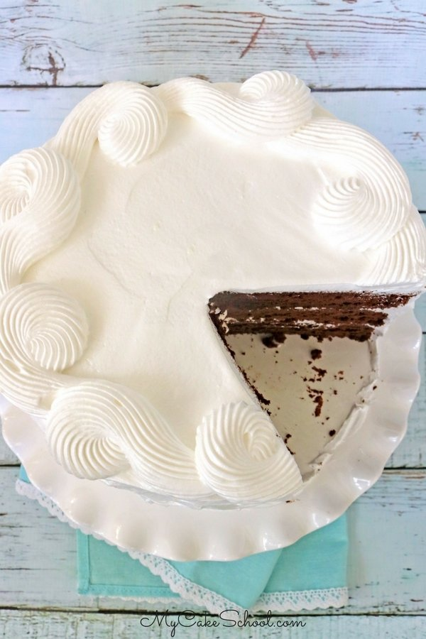 Homemade Chocolate Sour Cream Cake Recipe by MyCakeSchool.com