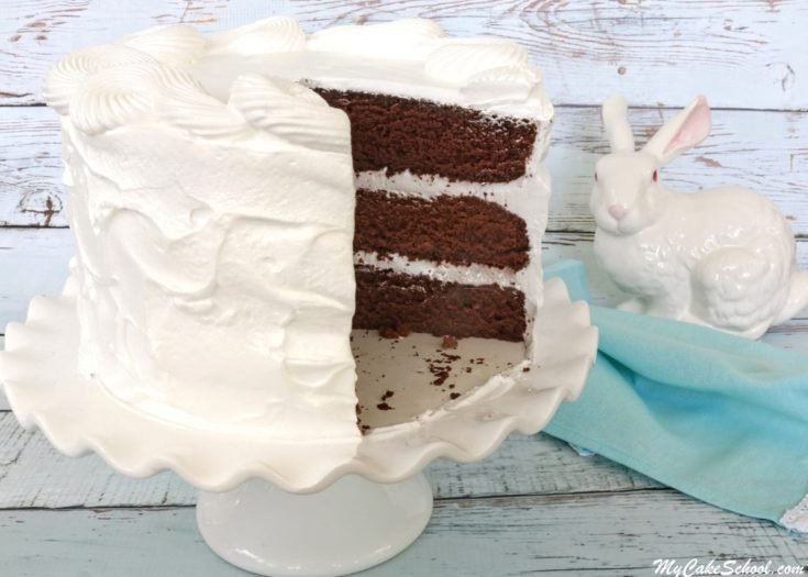 Chocolate Sour Cream Cake- Scratch Recipe