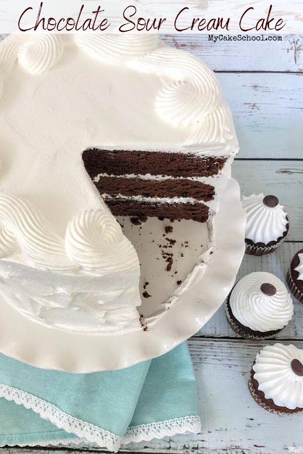Chocolate Sour Cream Cake Recipe