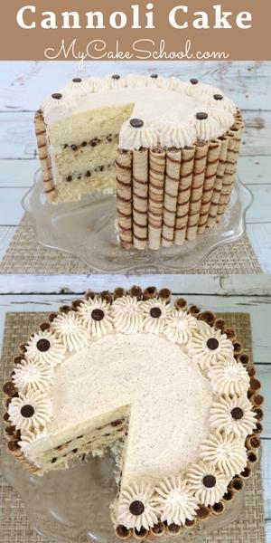 Delicious homemade Cannoli Cake Recipe