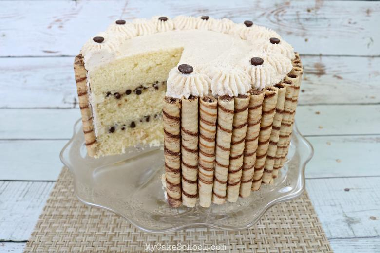 Cannoli Cake Recipe Image
