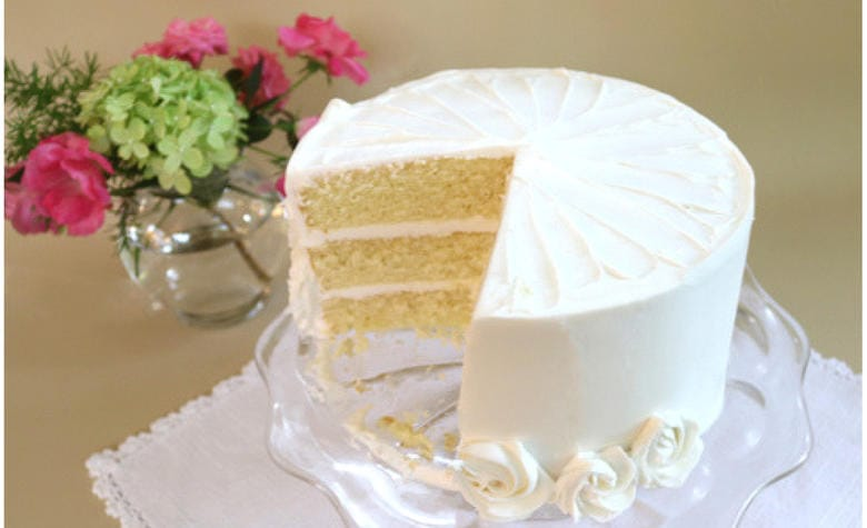 Delicious Vanilla Buttermilk Cake Recipe by MyCakeSchool.com