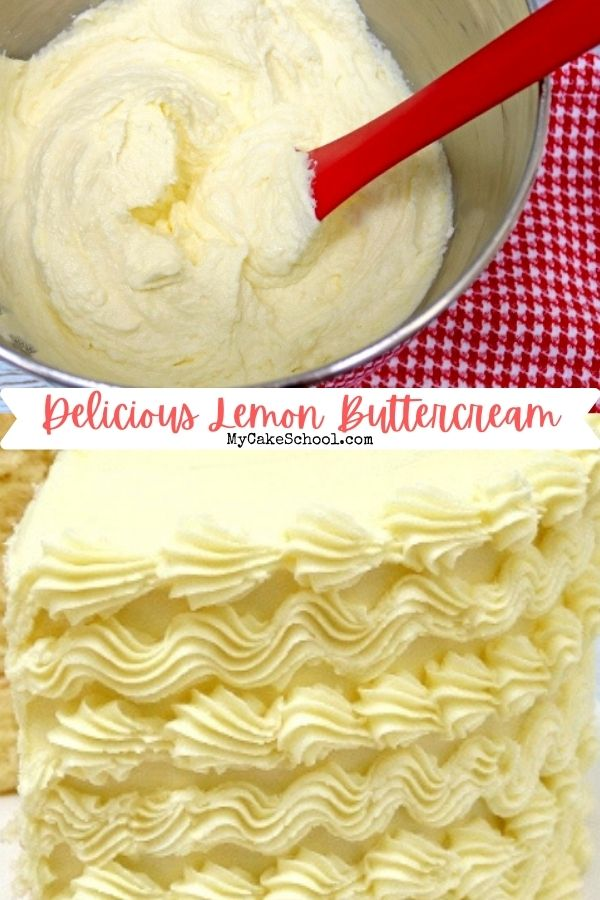 Easy and Delicious Lemon Buttercream Frosting