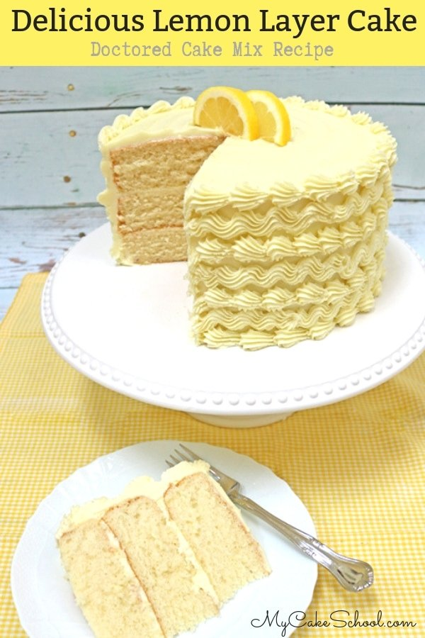 Moist and Delicious Lemon Cake Mix Recipe