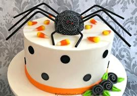 Spider Cake Topper Tutorial