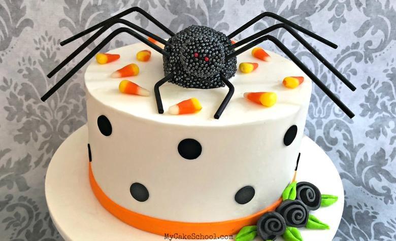 Spider Cake Topper Tutorial