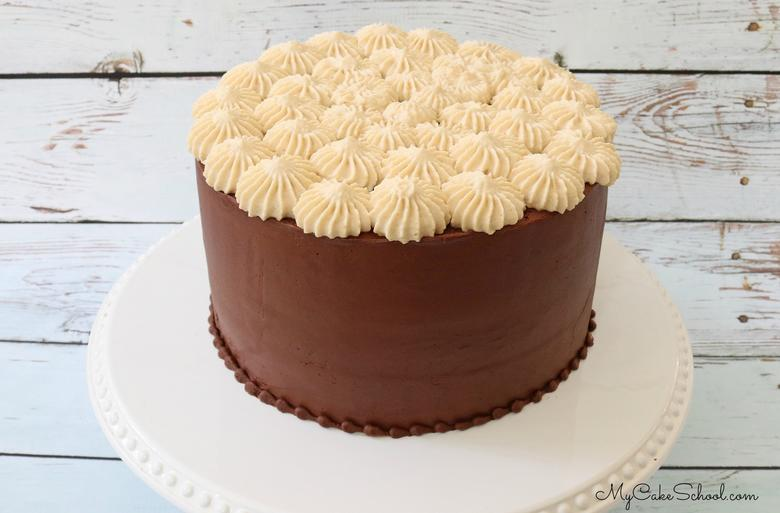 This amazing Caramel Mousse goes perfectly with decadent chocolate cake and ganache frosting!