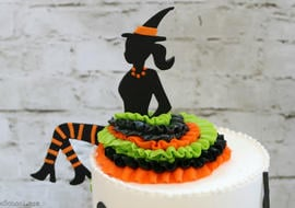 This Party Witch Cake is perfect for Halloween