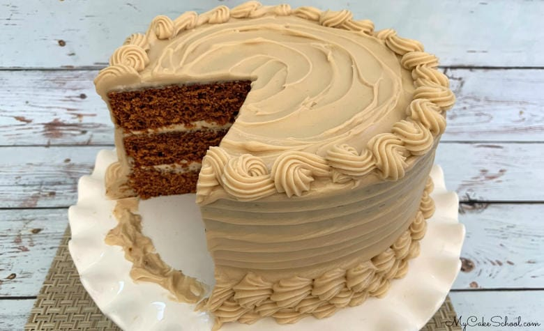 Gingerbread Latte Cake Recipe
