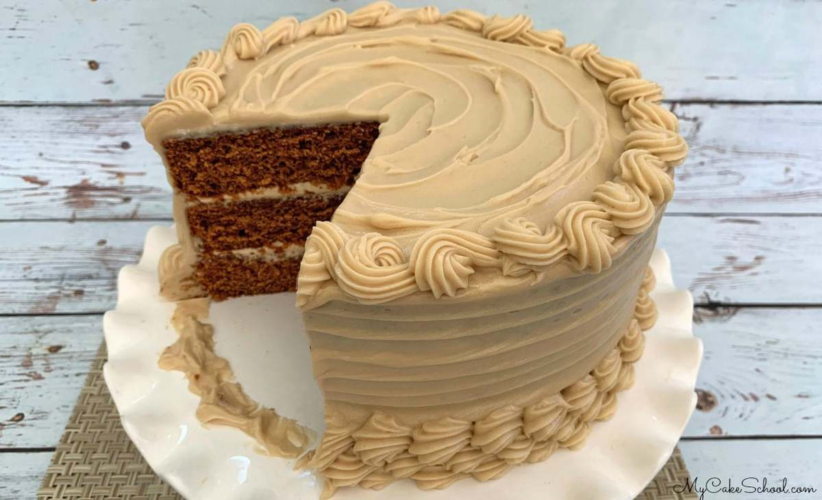 Gingerbread Latte Cake Recipe