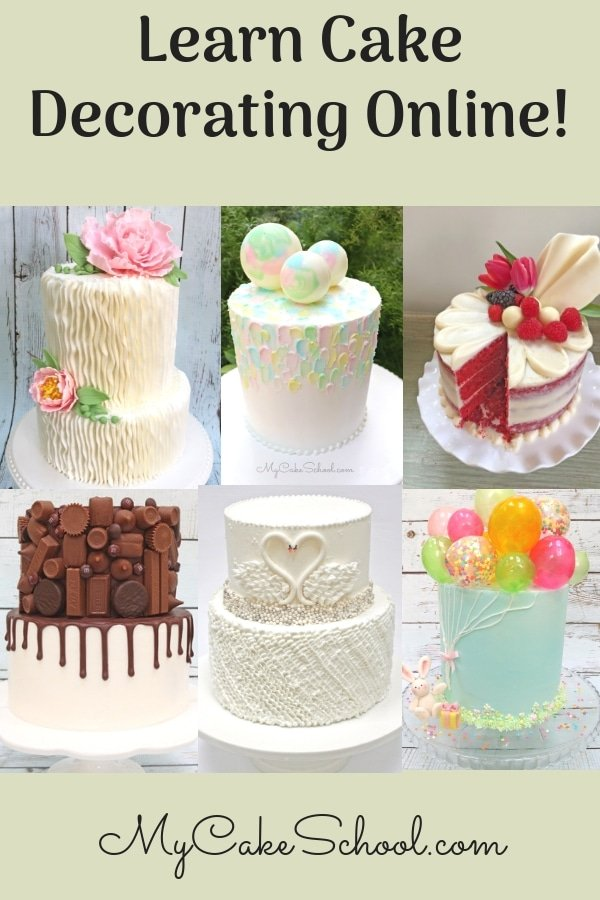 Learn Cake Decorating Online with MyCakeSchool.com!