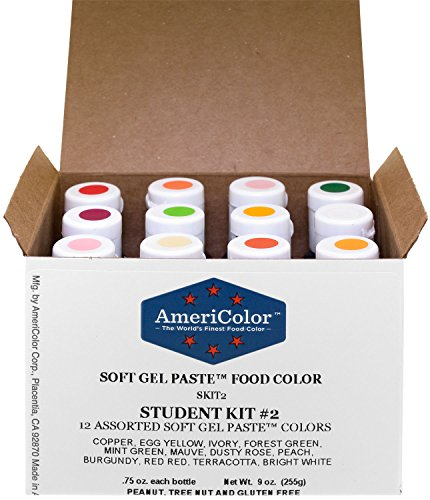 Americolor Coloring Gels Set (Check box for list of colors. Colors are sold individually also.)