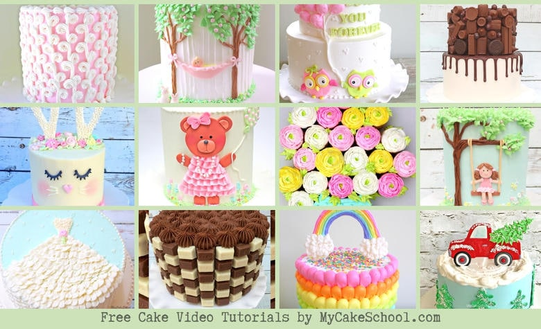 The BEST Free Cake Decorating Video Tutorials