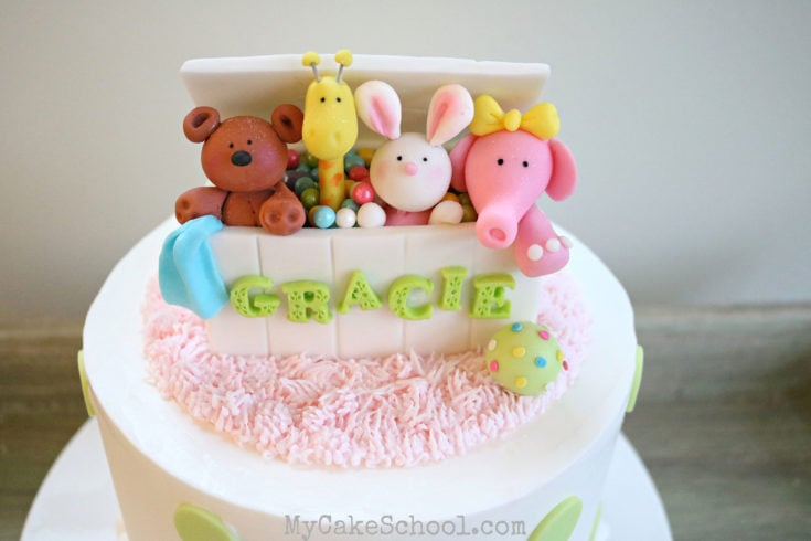 Toy Box Cake Topper- Member Section