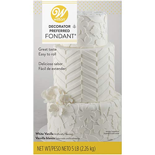 Wilton Fondant- 5 lb (Note that this is a 5 lb. package. Smaller packages are available also.)