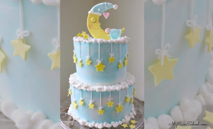 Baby and Moon Cake- A Member Video Tutorial
