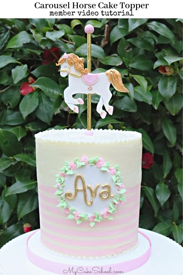 Carousel Horses For Cake Decorations  from www.mycakeschool.com