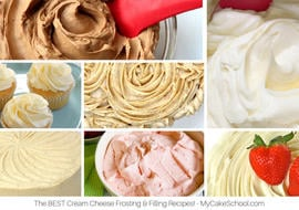 Easy and Delicious Cream Cheese Frosting Recipe by MyCakeSchool.com