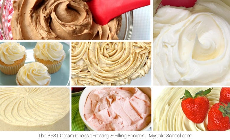 A Roundup of the BEST Cream Cheese Frostings and Fillings