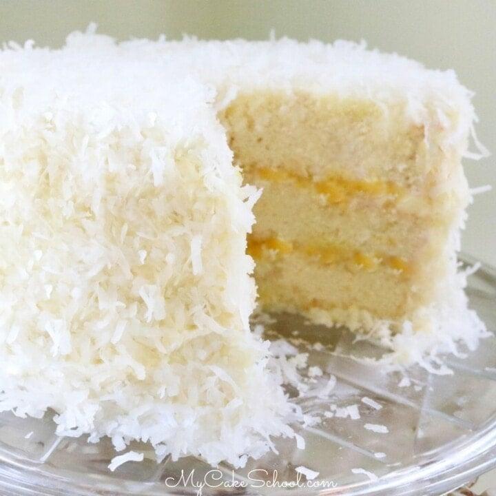 Pineapple Coconut Cake My Cake School