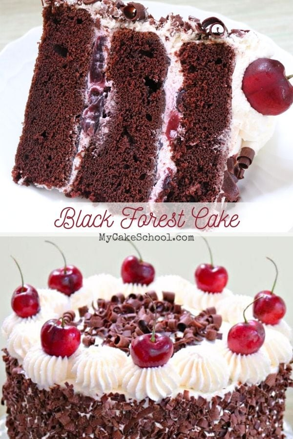 Moist and Flavorful Black Forest Cake from Scratch