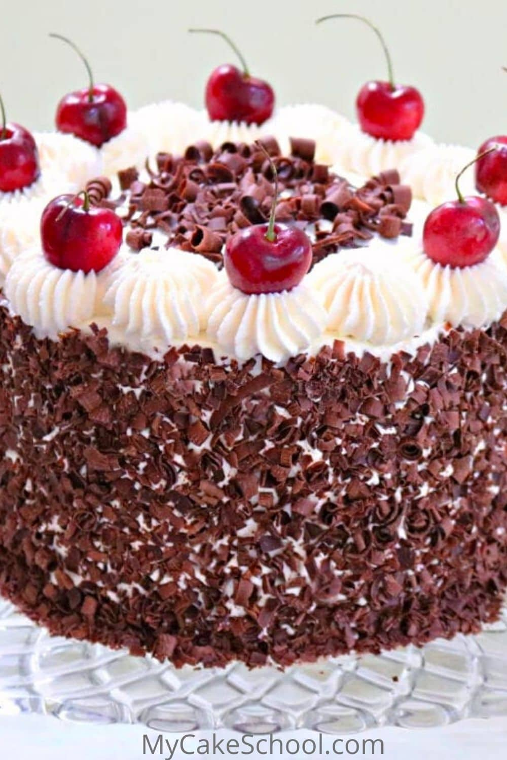 Black Forest Cake Recipe- SO moist and delicious
