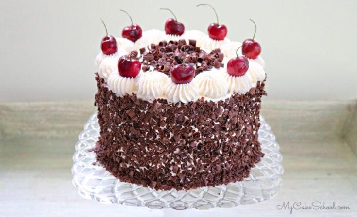 Black Forest Cake Recipe