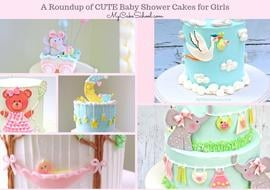 Cute Baby Shower Cake Ideas for Girls