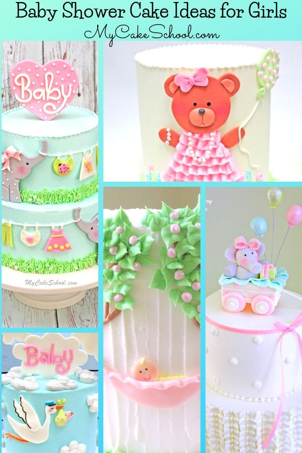 Looking for baby shower cake ideas for girls? Here is a collection of our favorites!